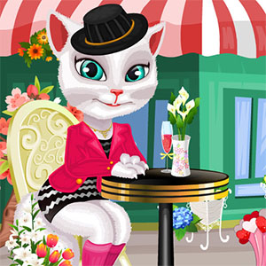 TALKING ANGELA DRESS UP