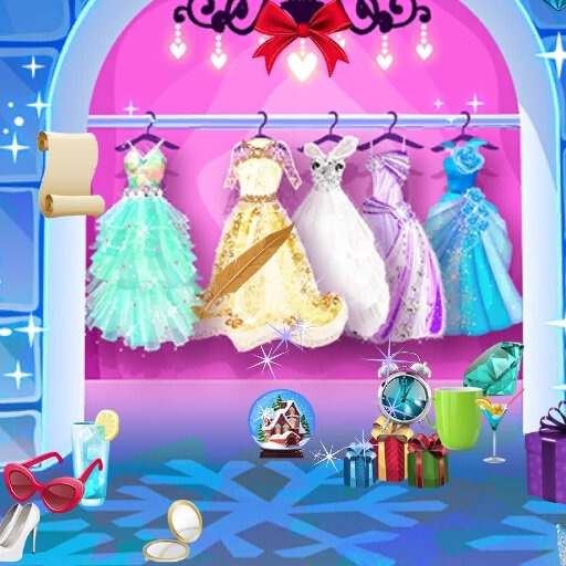 Ice Princess Hidden Object