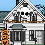 Halloween House Decoration