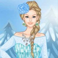 Frozen Barbie Dress-Up
