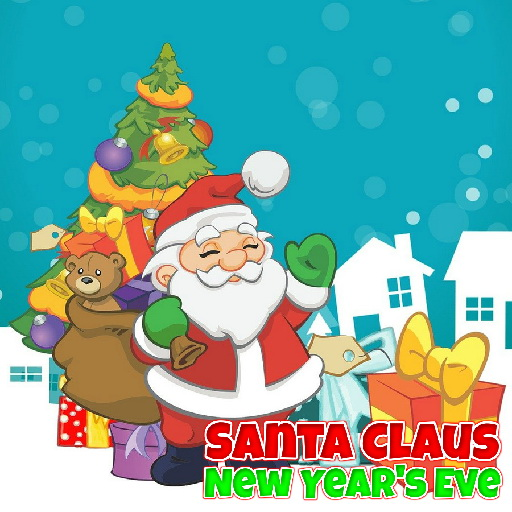 Santa Claus New Year's Eve