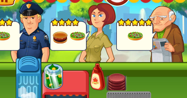 burger restaurant express game free online